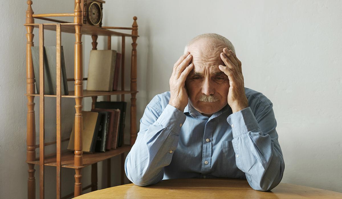 S starostjo se pojavi demenca
